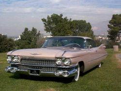 1959 Cadillac Coupe DeVille. In its time it was one of the cars with the largest fins